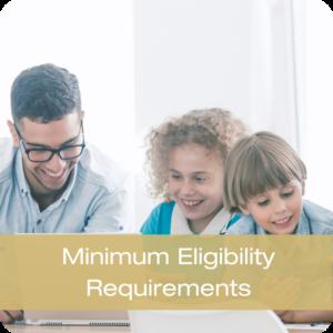 Minimum Eligibility Requirements Button
