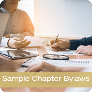 Sample Chapter Bylaws