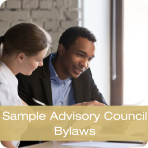 Sample Advisory Council Bylaws