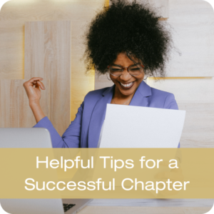 Helpful Tips for a Successful Chapter Button