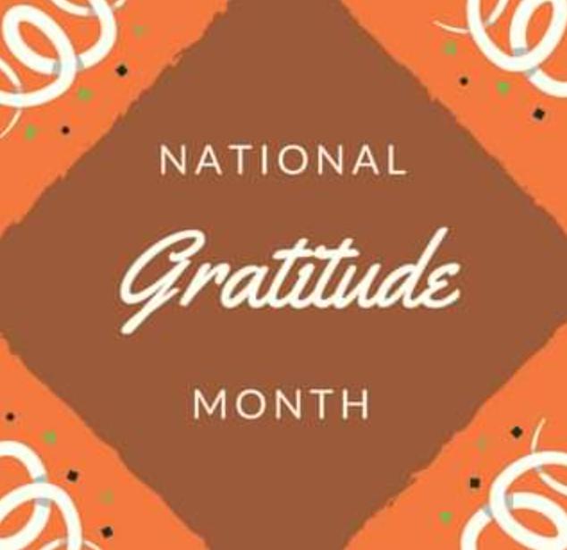 National Gratitude Month