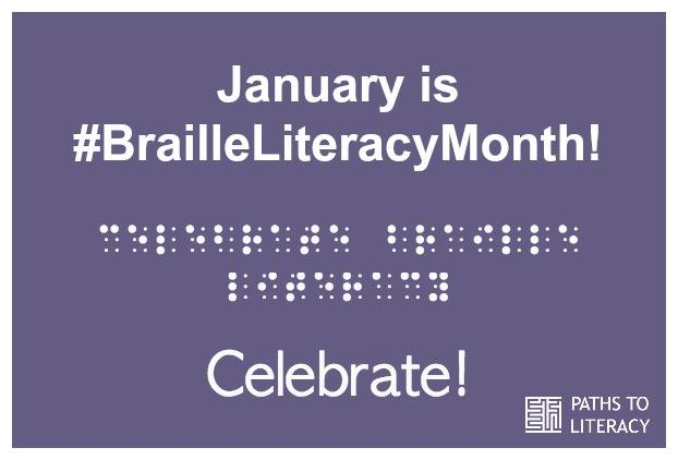 Braille Literacy Month Poster