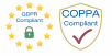 GDPR and COPPA Compliance Logos