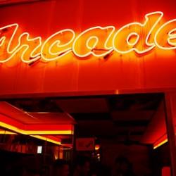 Neon Arcade Sign